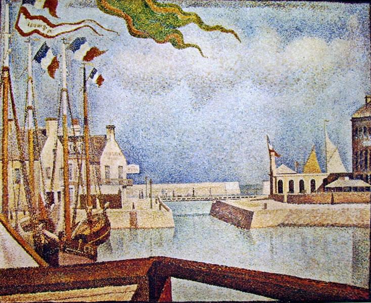 47 Georges Seurat-Veduta a Port en Bessin