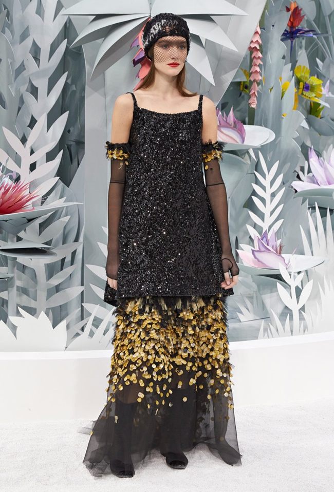 Chanel tropical garden l 39 eco degli eventi for Chanel haute couture 2015
